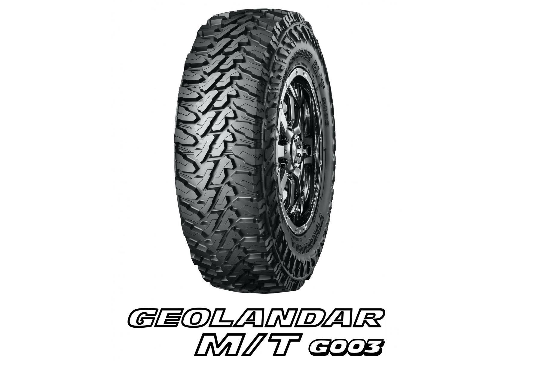 Продажи новых грязевых шин Geolandar M/T G003 стартуют в августе