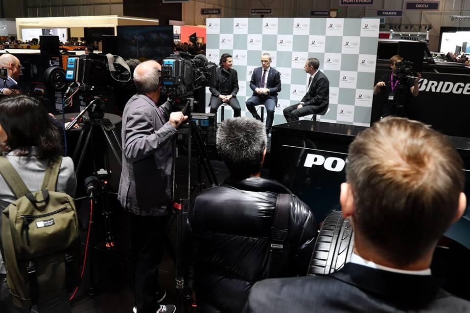 Bridgestone активизирует партнерство с МОК