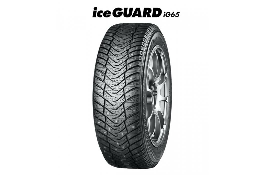 Новые шипованные шины Yokohama iceGuard iG65 начнут продавать осенью