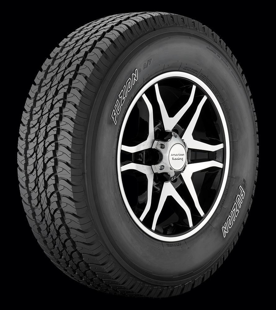 Bridgestone Americas начала продажи вседорожных шин Fuzion A/T