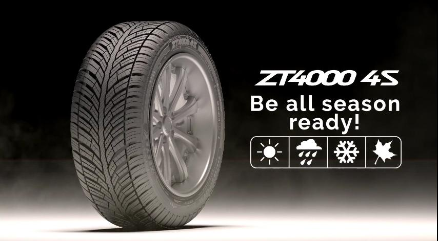 Zafco разработала новые всесезонки Zeetex ZT4000 4S для европейского рынка