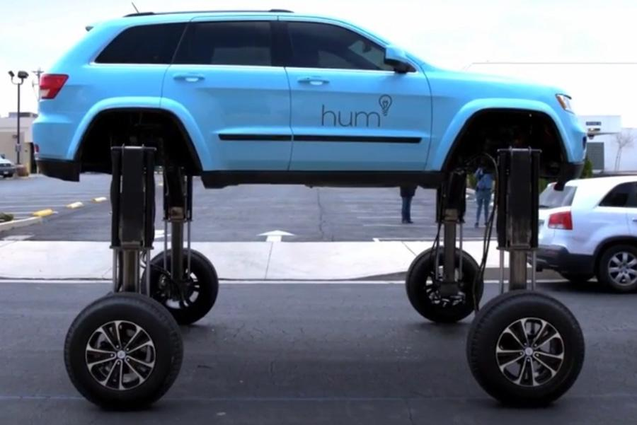 В США изобрели автомобиль для «прошивания» пробок