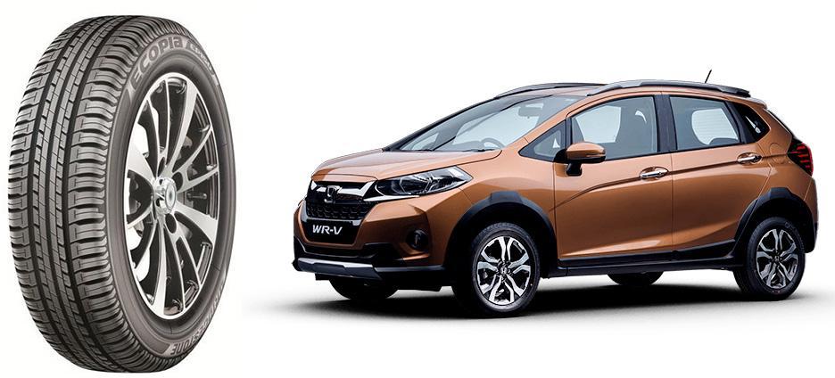 Новые Honda WR-V обуют в экошины Bridgestone Ecopia EP150 индийского производства