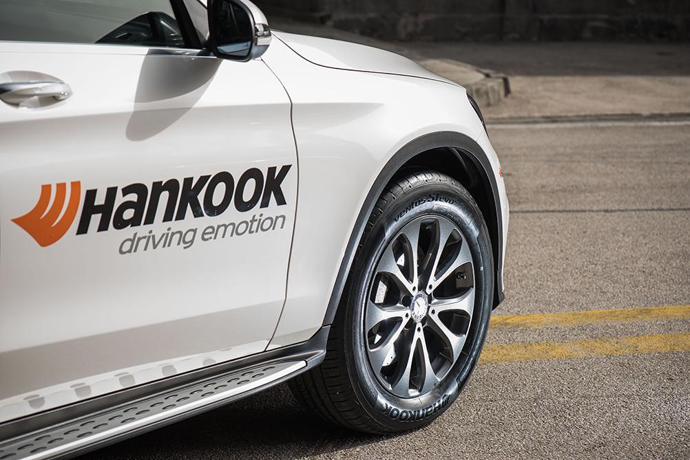 Шинники Hankook обуют кроссоверы Mercedes-Benz GLC и GLC Coupé в шины Ventus S1 evo² SUV
