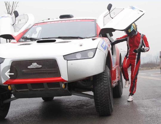 Sentury Tire тестирует новые раллийные покрышки Landsail PR16