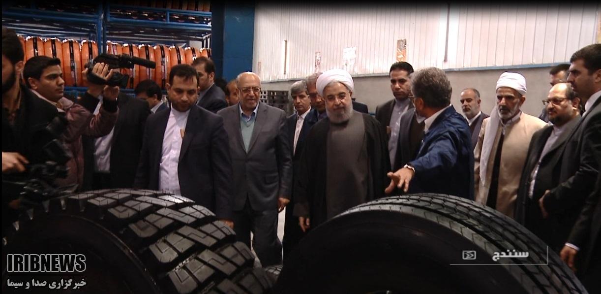 Barez Tires открыла свой второй завод в Иране