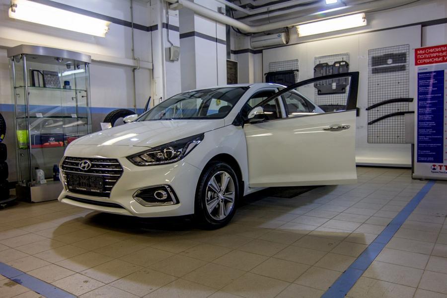 Hyundai может начать сборку двигателей в России