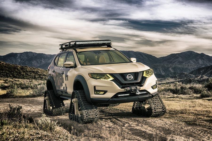 Nissan поставил X-Trail на гусеницы