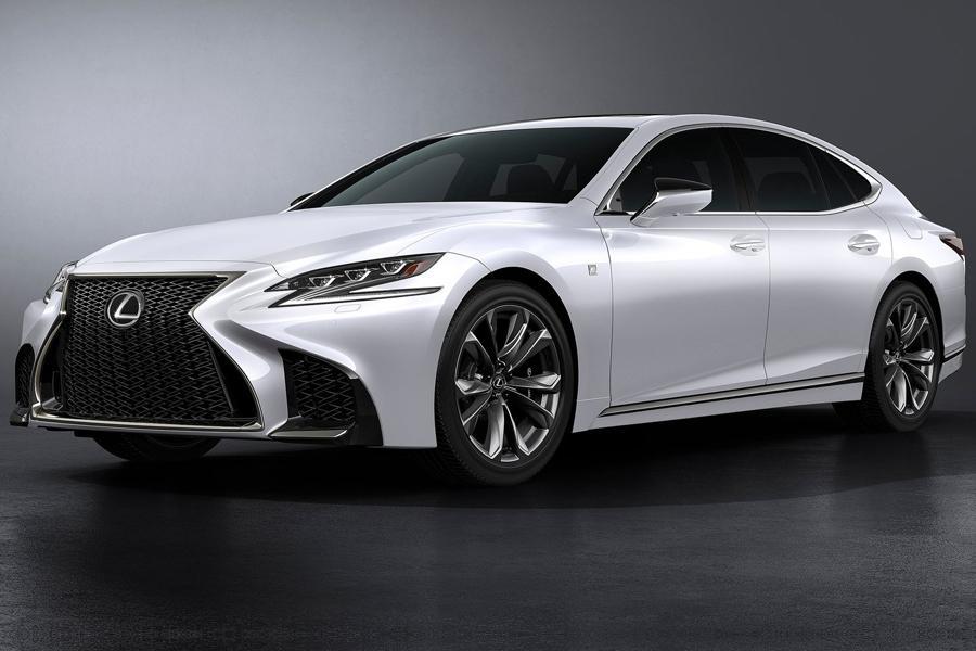 Lexus LS стал спортивнее