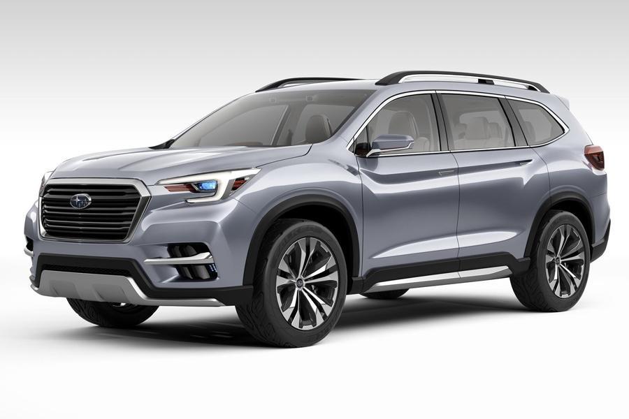 Subaru представила в Нью-Йорке концепт Ascent