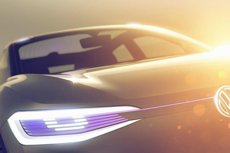 Volkswagen покажет в Шанхае электрический концепт