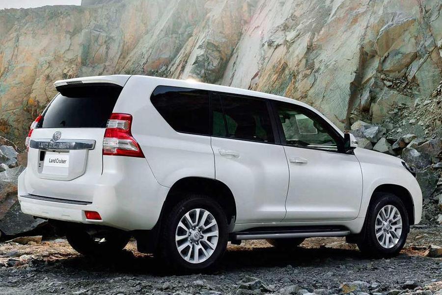 Toyota Land Cruiser Prado скоро обновится