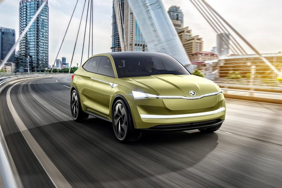Автосалон в Шанхае 2017: Skoda Vision E
