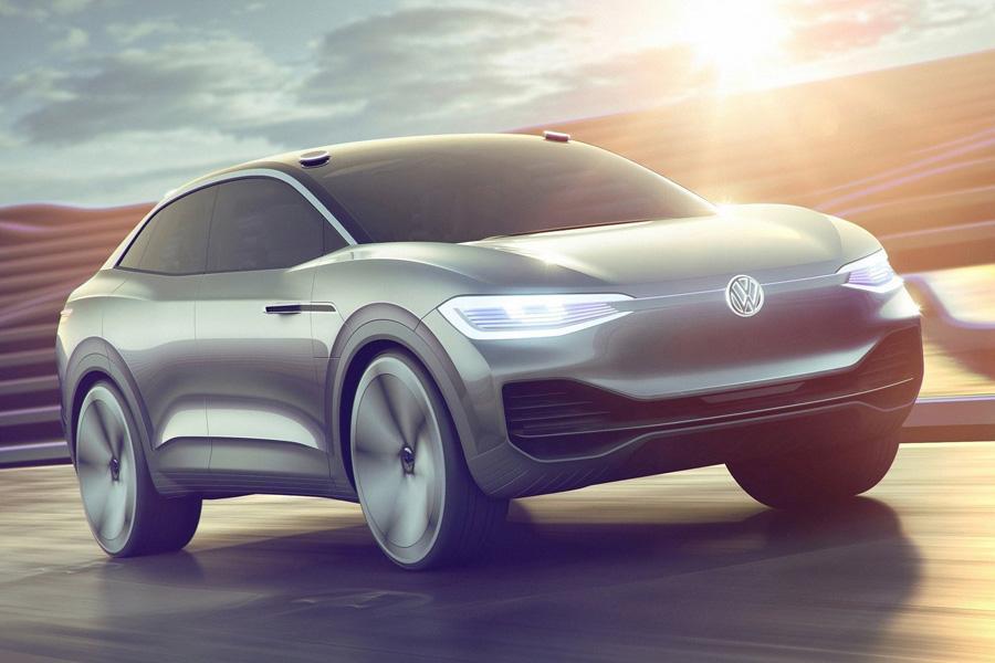 Автосалон в Шанхае 2017: Volkswagen ID Crozz Concept