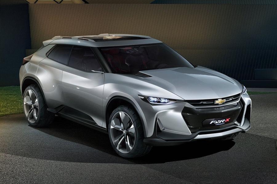 Автосалон в Шанхае 2017: Chevrolet FNR-X