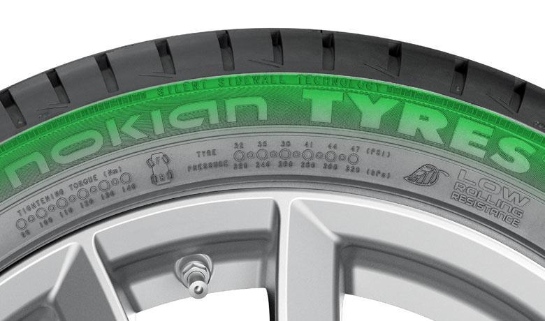 Nokian Tyres представляет технологию шумопоглощения Silent Sidewall