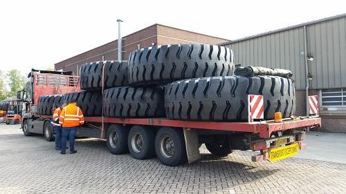 Magna Tyres начала поставки своих OTR-шин в Саудовскую Аравию