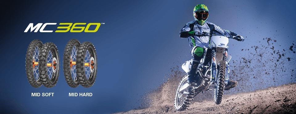 Metzeler представляет новую линейку мотокроссовых шин MC 360