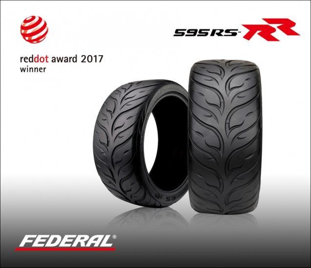 Шинники Federal получили престижную премию Red Dot Award 2017 за полуслики 595RS-RR