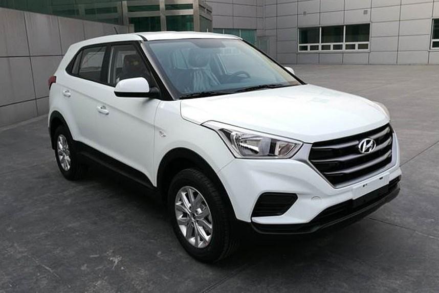 В Китае Hyundai Creta готов к рестайлингу