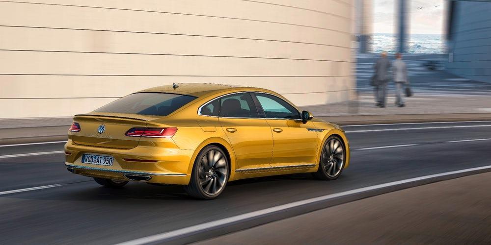 Volkswagen омологировал шины Pirelli для фастбека Arteon