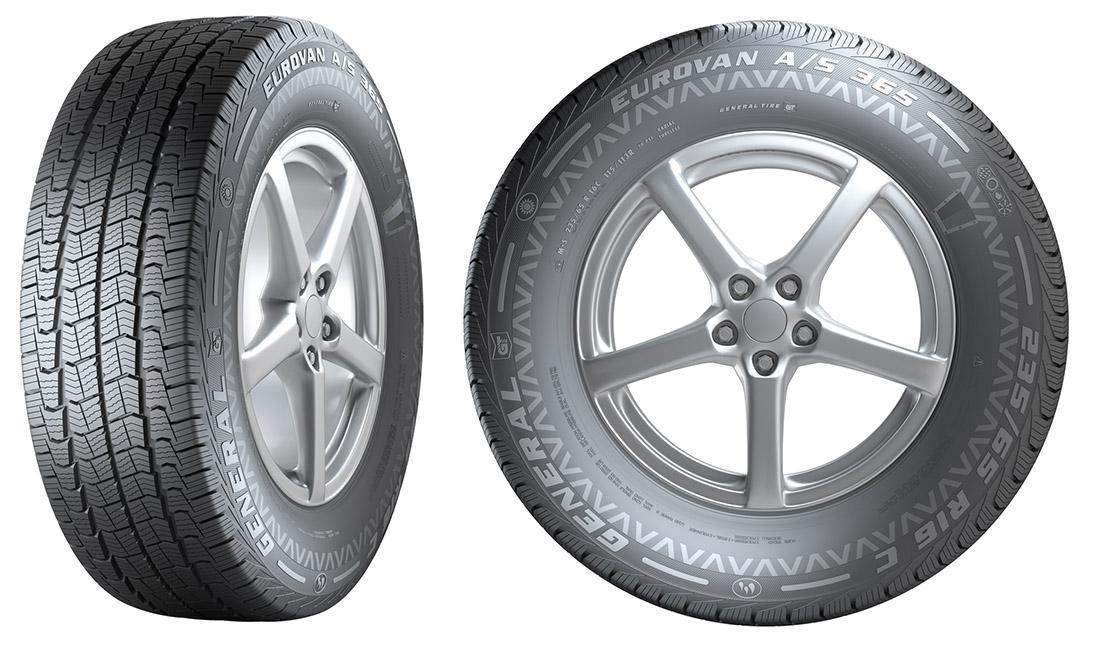 General Tire представила новую всесезонную VAN-шину