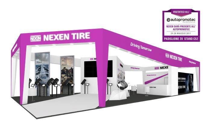 Nexen привезет на выставку в Болонью 10 новых моделей шин