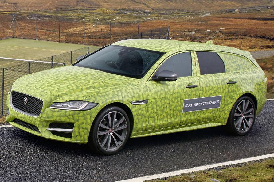 Jaguar рассказал о дате премьеры универсала XF