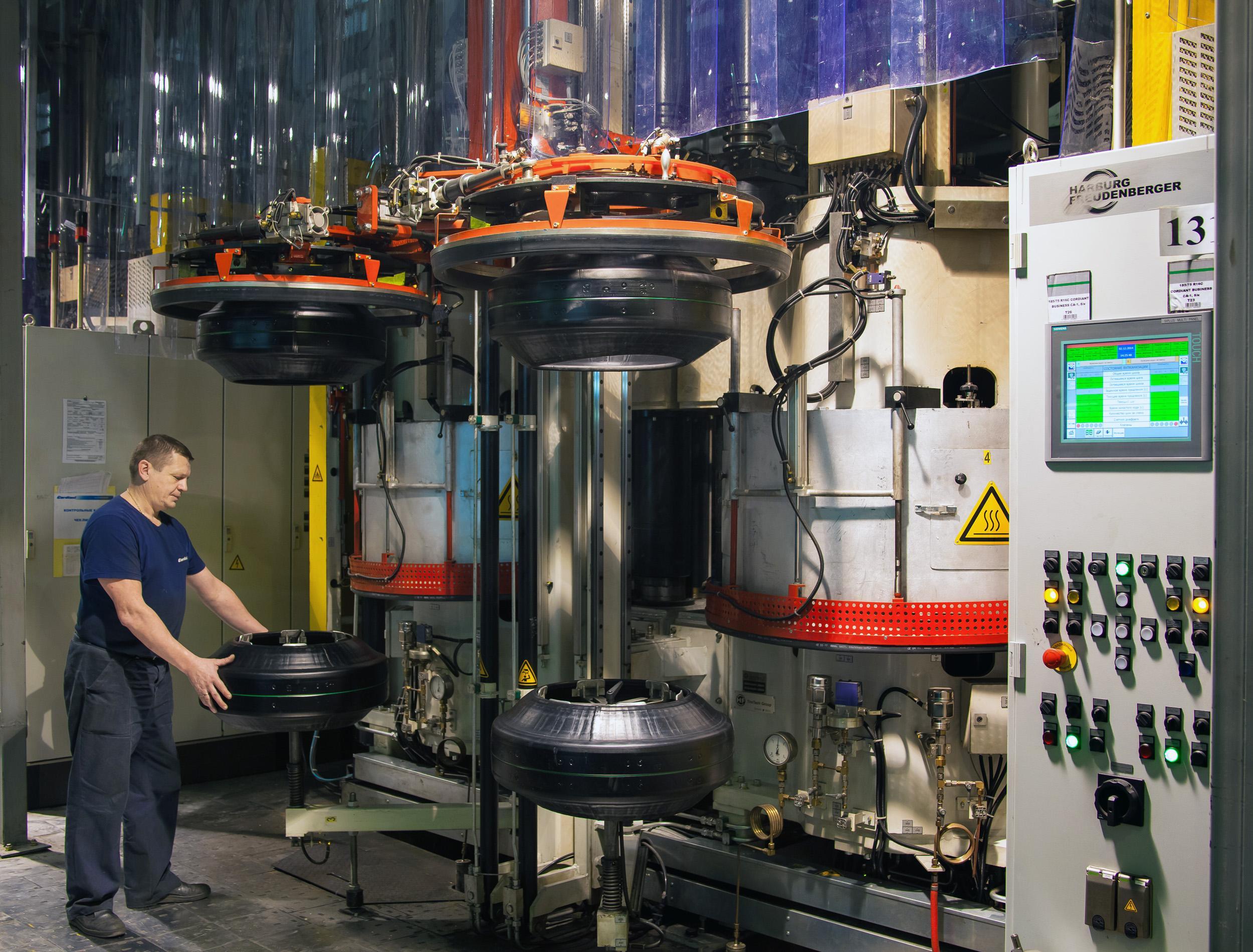 «Кордиант» инвестирует в модернизацию омского производства более 1,5 миллиарда рублей