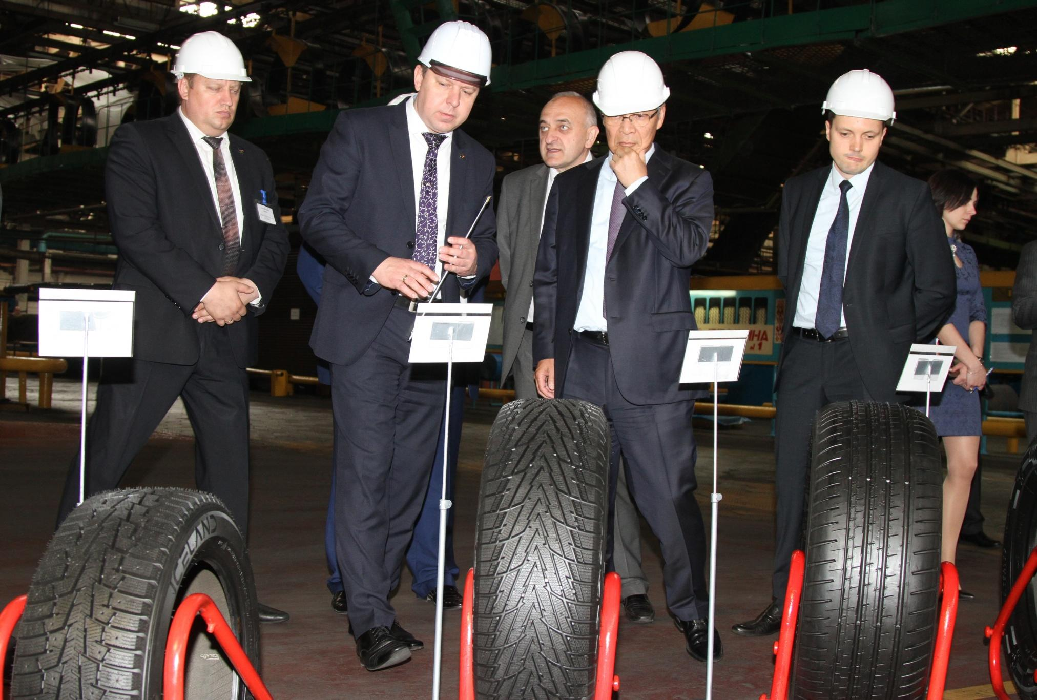 Yokohama и «Белшина» провели переговоры о создании совместного предприятия