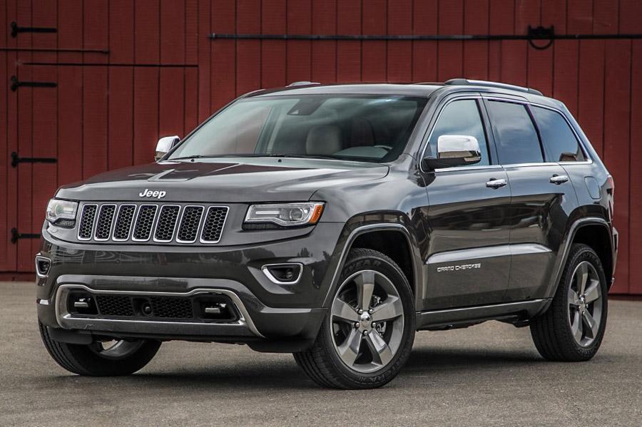 Jeep отправляет в ремонт почти девять тысяч Grand Cherokee