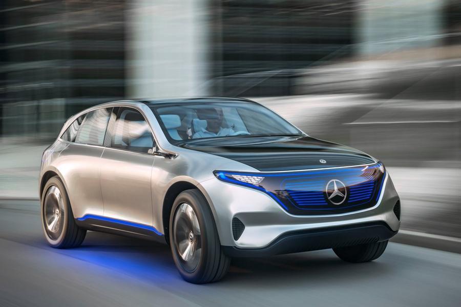 Mercedes готовит второй прототип будущего суббренда EQ