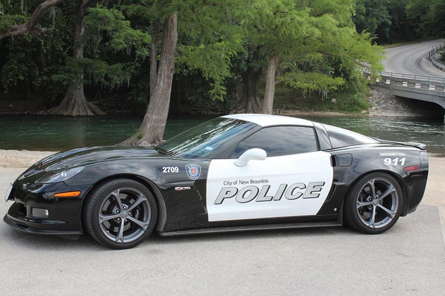 Полиция Техаса не смогла расстаться с конфискованным суперкаром