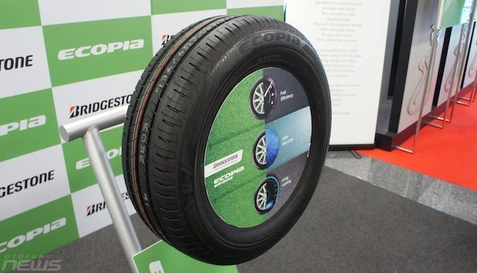 Bridgestone представила экошину следующего поколения Ecopia EP300