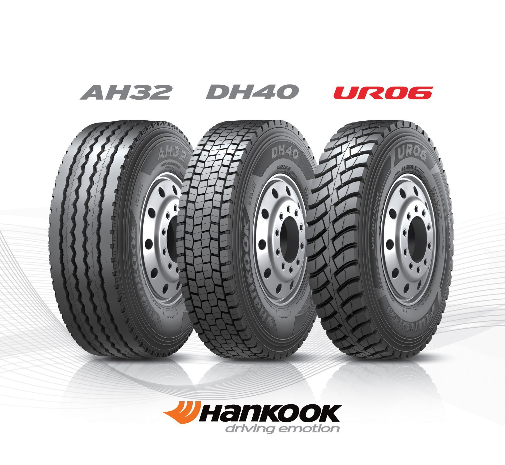 Hankook Tire объявила о запуске трех новых моделей шин для самосвалов