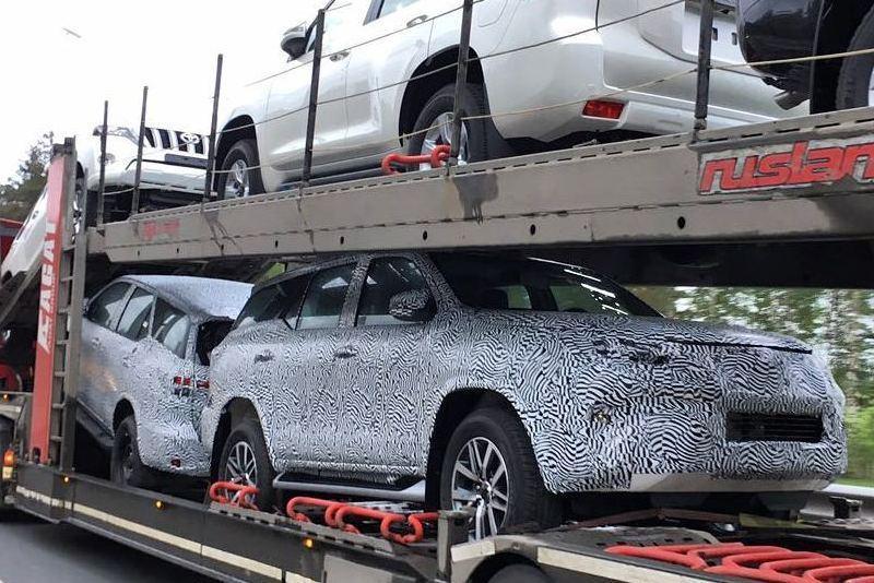 Toyota привезла в Россию первые внедорожники Fortuner