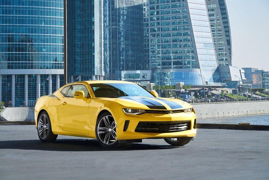 В России будут продавать копию купе Camaro из экшена «Трансформеры»