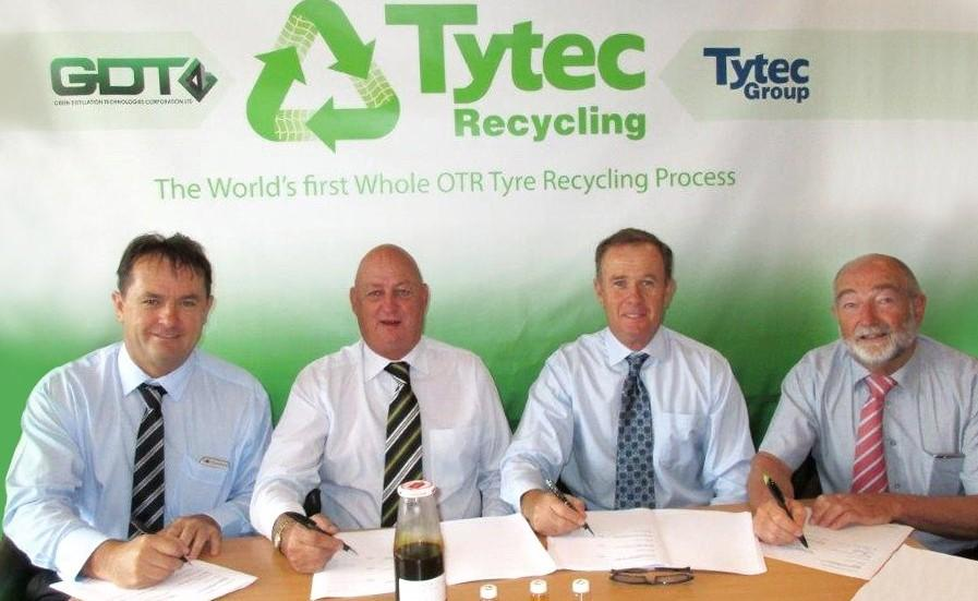 В Австралии будет построен первый в мире завод по безотходной переработке OTR-шин