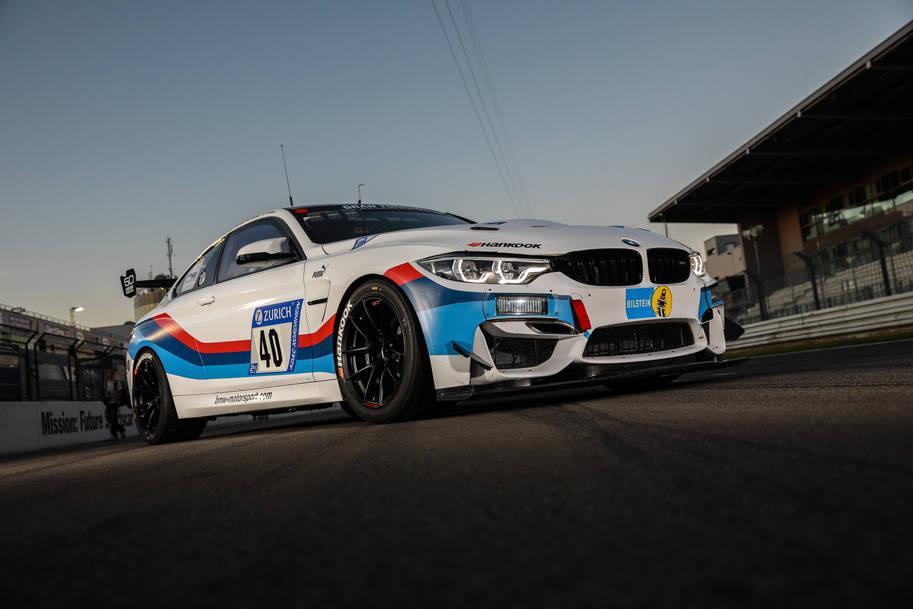 BMW M4 GT4 на шинах Hankook Ventus Race успешно дебютировал на Нюрбургринге