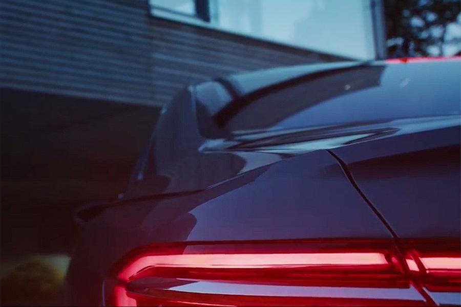Audi напомнила о новой А8 видеотизером