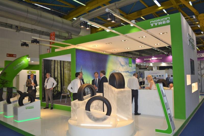 Nokian привезла в Италию последние разработки для Центральной Европы