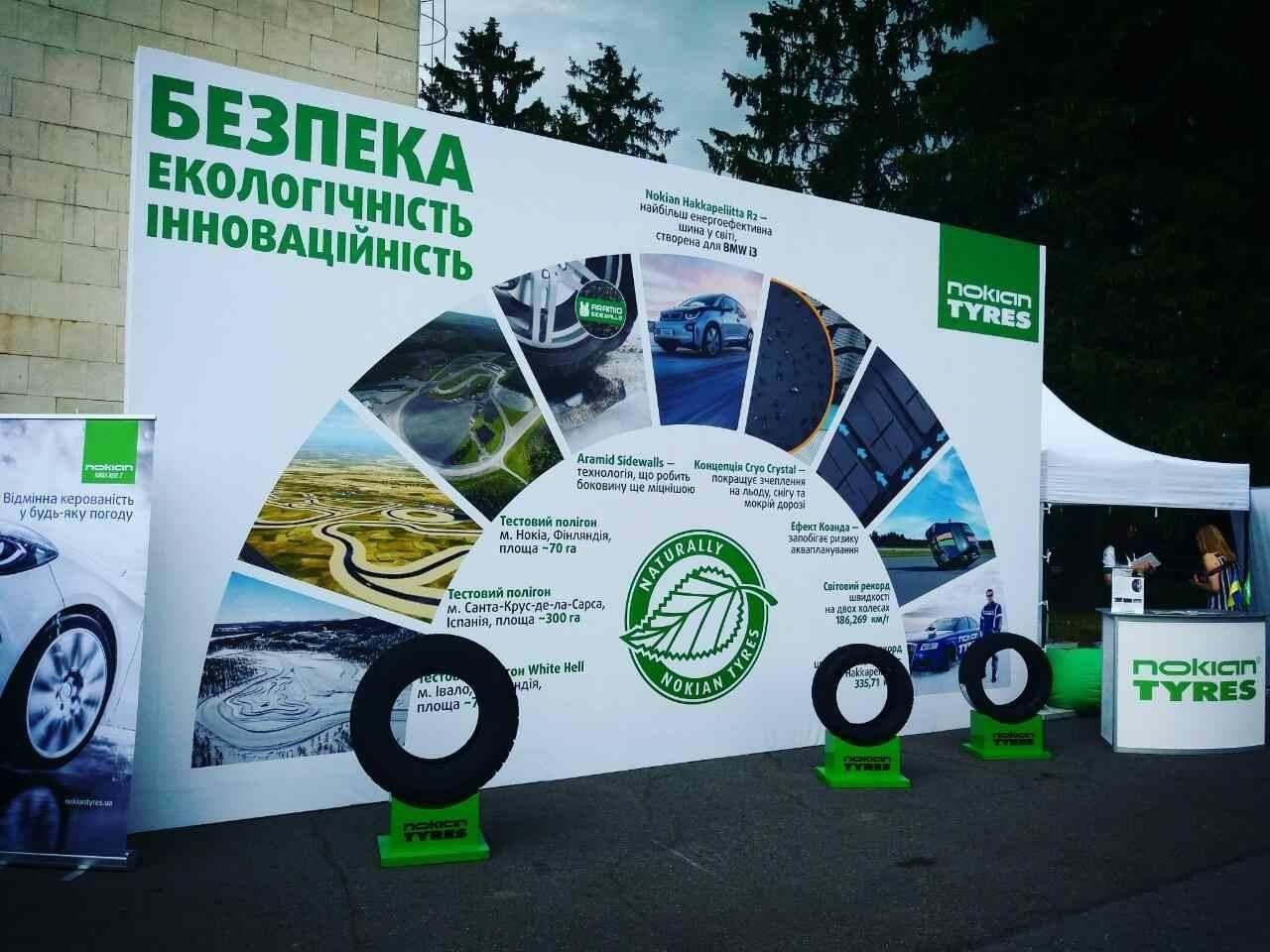 Nokian Tyres на Фестивале NewCarsFest 2017