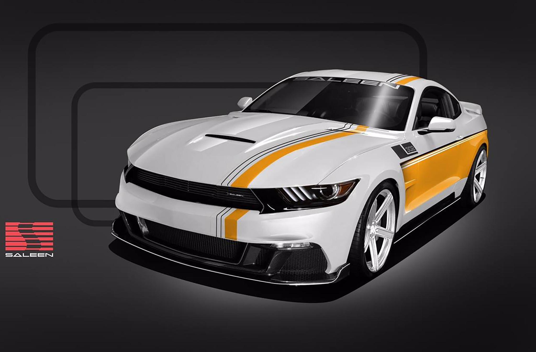 Юбилейную версию Saleen Mustang обуют в новые шины General G-Max RS