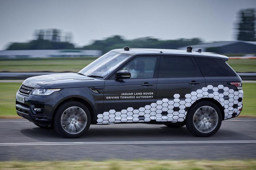 Land Rover похвастался достижениями в постройке беспилотника