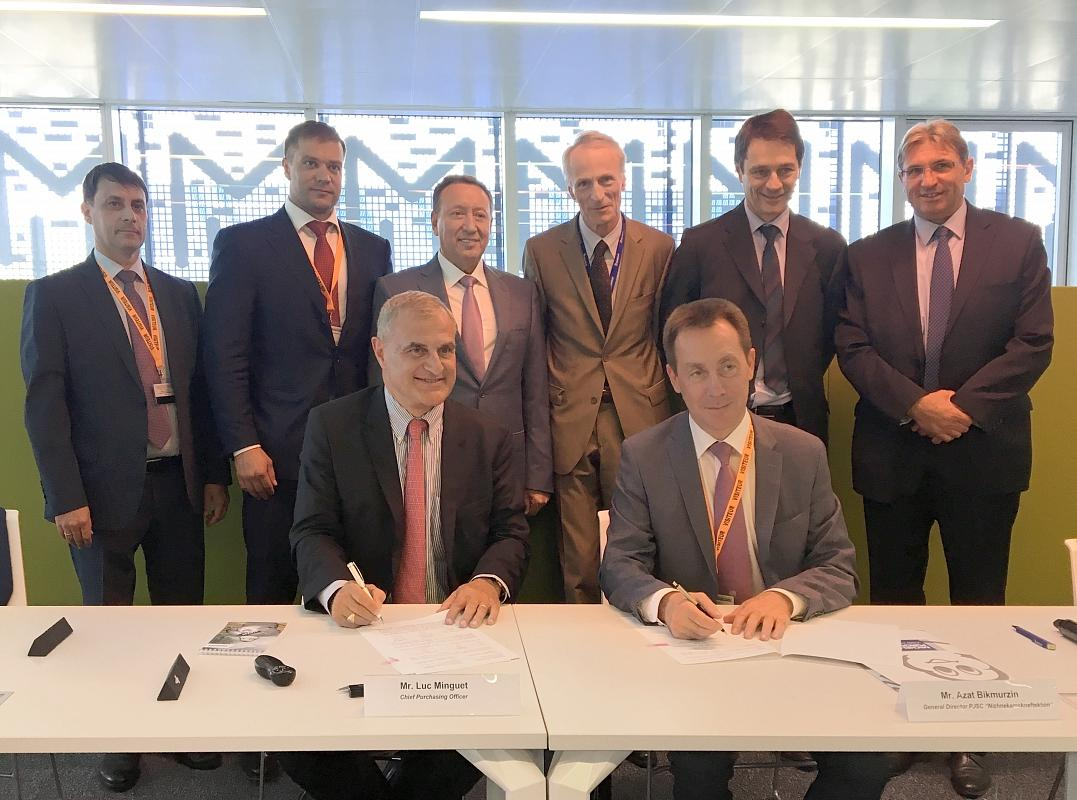 «Нижнекамскнефтехим» подписал с Мишлен контракт на поставку синтетических каучуков
