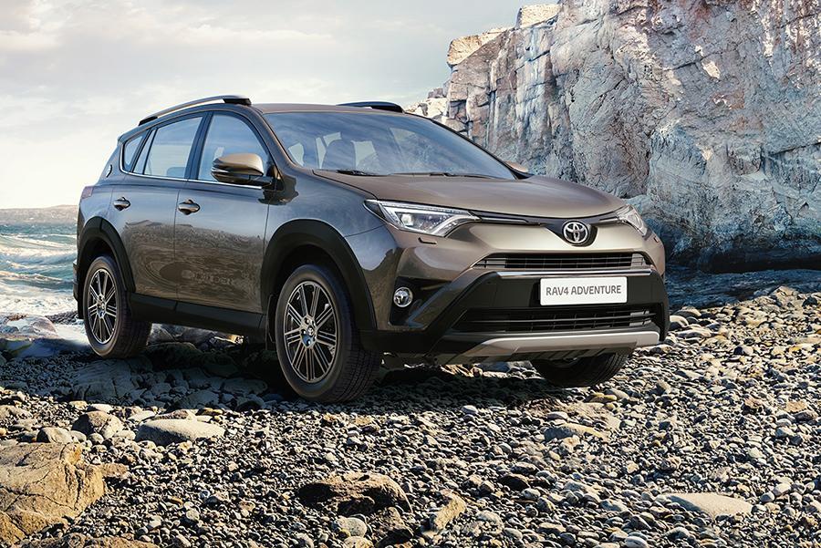 Toyota RAV4 получила новую комплектацию