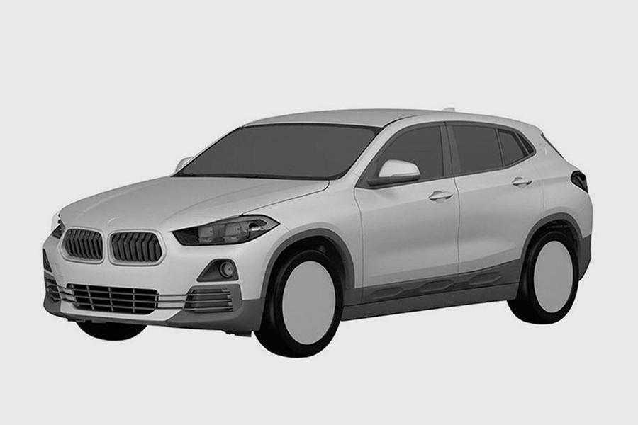 Концерн BMW запатентовал облик серийного X2