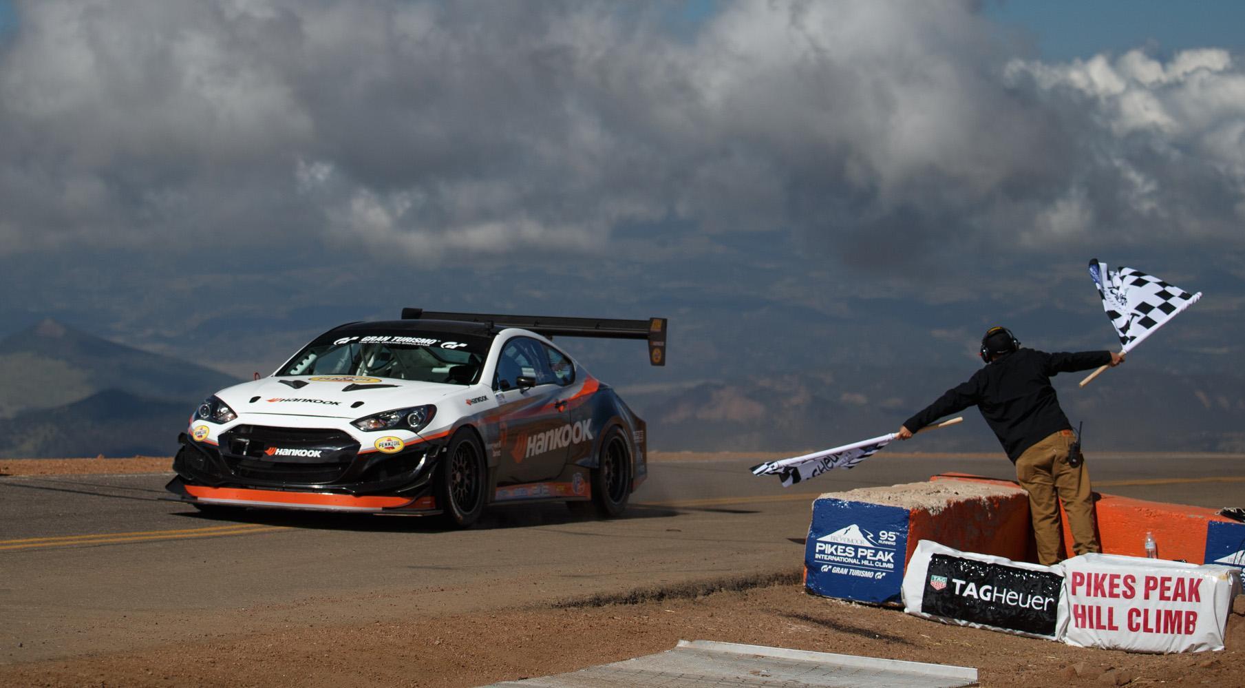 Очередная победа Hankook и Райса Миллена в гонке Pikes Peak International