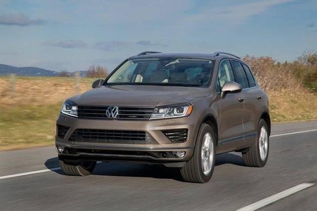 Volkswagen Touareg уходит из США