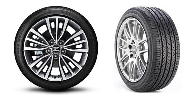 Новые фастбэки Kia Stinger обуют в шины Bridgestone Potenza